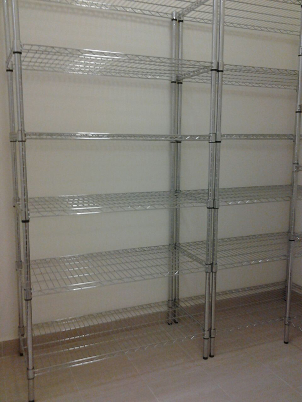 Chrome Rack Chrome Wire Shelving Uns Pte Ltd