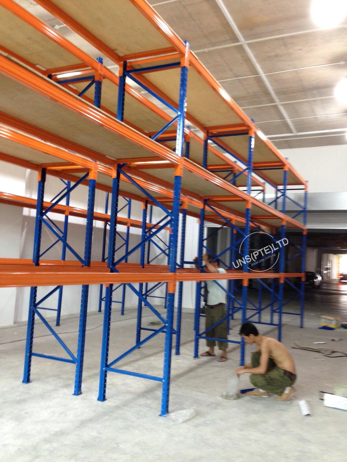 Heavy Duty Shelving Rack Uns Pte Ltd